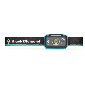 Black Diamond Spot 325 Otsalamppu, aqua blue